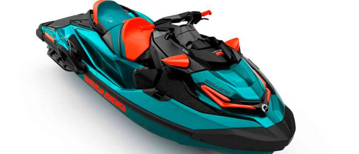 MY WAKE PRO  SS Teal Blue metallic   Lava red   front