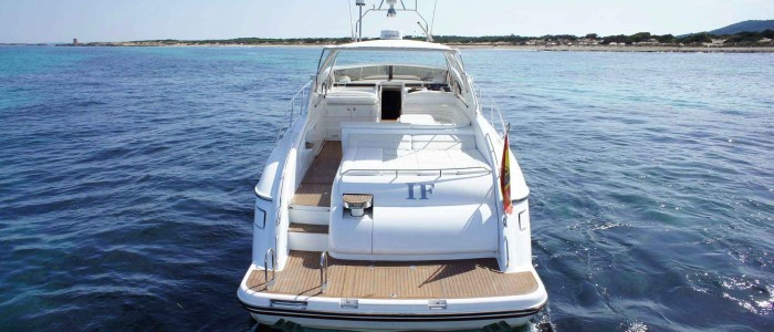 Princess V Ibiza Boats Barcos Alquiler Charter Formentera