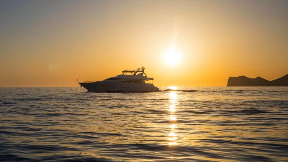 Ruta en barco por el sur de Ibiza 2