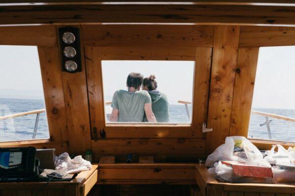 El privilegio de dormir a bordo de un barco