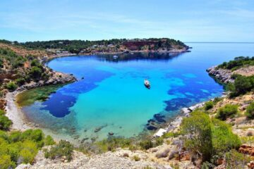 playas con encanto en Ibiza