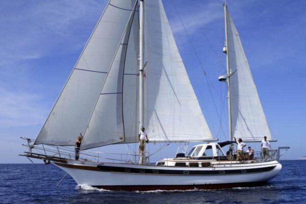 Classic Sailing boat 56