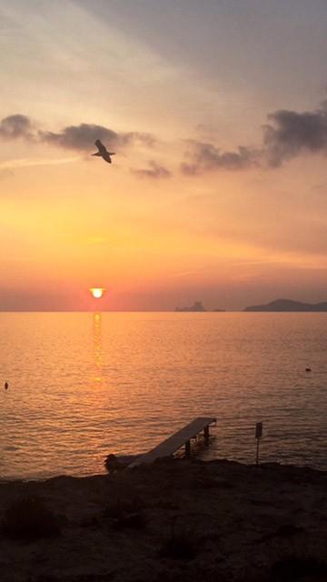 puesta de sol ibiza formentera