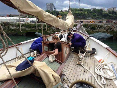 revision de piezas de embarcacion