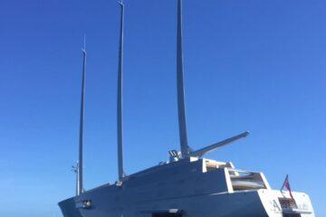 El velero más grande del mundo visita Ibiza